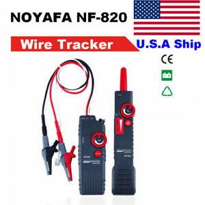 Us Ship Noyafa Nf 820 High low Voltage Cable Tester Underground Cable Finder