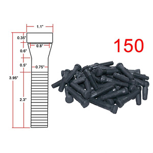 Pinty Heavy Duty 150 Pack Chicken Plucker Fingers Poultry Duck Goose Feather