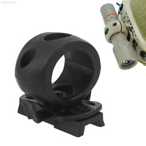 C099 Tactical Helmet Flashlight Holder Clamp Clip Airsoft Hunting Accessories