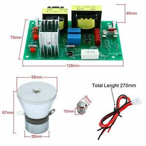 28khz 100w Ultrasonic Cleaning Transducer Cleaner 110v Power Driver Board Usa