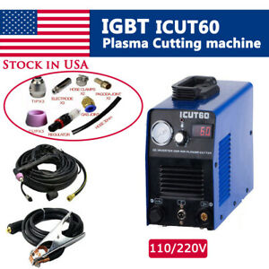 Icut60 60p Air Plasma Cutter Cutting Machine Combination Sales 110 220v In Us