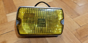 Vintage Cibie Halogen Rectangular Driving Light Coded Iode 35