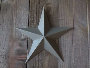 Lot Of 2 Country Primitive 14 Green Barn Stars Rustic Wall Decor Dimensional