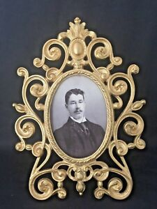 Unusual Stunning Antique Victorian Picture Frame