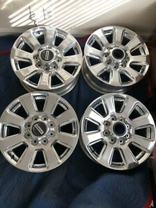 2018 Ford F250 Platinum 20 Inch Wheels Rims Price Reduced