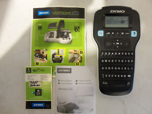 Dymo Label Manager 160 Professional Business Label Maker W Manual Works Perfect