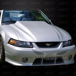 1999 2004 Ford Mustang 3 Cowl Functional Heat Extractor Hood 90 Day Warranty