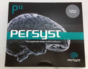 Persist 12 Eeg Review And Analysis Software sn Is On Box But Not In Picture