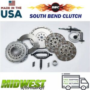 South Bend Dual Disc Clutch Fits 1994 1997 Ford F 250 F 350 7 3l Powerstroke