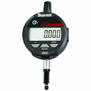 Starrett 2900 1m Lcd Electronic Indicator 8mm Stem Dia 0 12mm Range 0 001mm