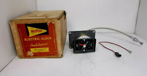 Nos 1960 60 Plymouth Fury Clock Beautiful Serviced Works Perfectly