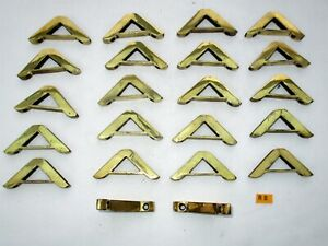 R8 Antique Brass Stair Rod Bracket Price Is Per Bracket For 3cm Rod Face