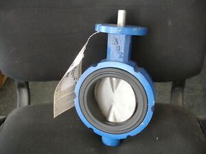 Abz 4 Resilient Seat Butterfly Valve Wafer Style Body Fig 090 150 Psi