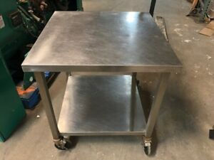 Stainless Steel 30 X 30 Heavy Duty Heavy Duty Commercial Prep Food Work Table