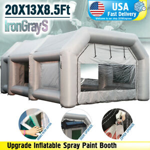 20x10x8ft Inflatable Spray Booth Custom Tent Inflatable Paint Booth