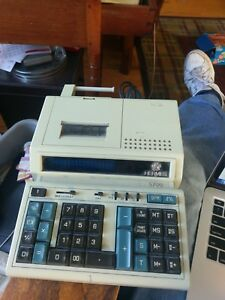 Vintage Hermes Calculator 5700 Electric Adding Machine Tested Working