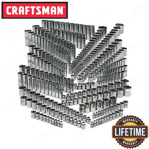 Craftsman 299 Piece Ultimate Socket Tool Set Standard Deep Sae Metric Drive Kit