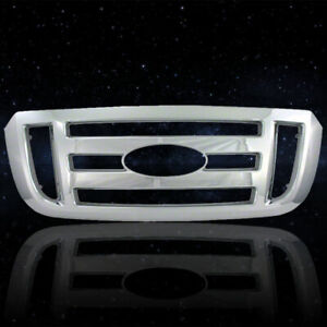 Auto Reflections Chrome Abs Grille Overlay For 2006 2011 Ford Ranger