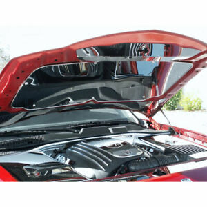 Acc Hood Panel Fits 2005 10 Chrysler Dodge Charger Magnum 300 Stainless Polished