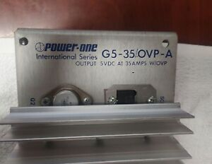 Power one Dc Power Supply G5 35 ovp a5vdc At 35 Amps W ovp tested