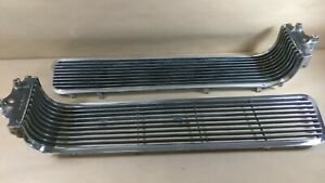 1963 Pontiac Front Grille Cat Star Chief Bonneville Used 1 pair 543734