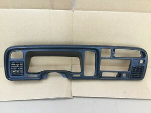 1994 95 96 1997 Dodge Ram Dash Trim Radio Bezel No Cracks Good Clips