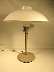 Vintage Gerald Thurston Design Lightolier Industrial Desk Lamp