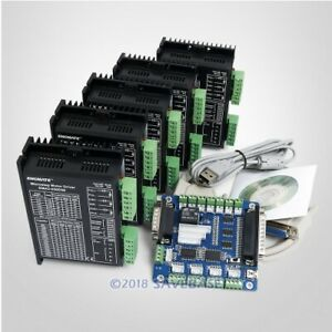 Cnc Kit 5 Axis Breakout Board Ema2 050d56 Drivers For Diy Router mill plasma