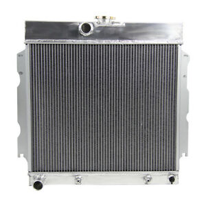 4 Row Aluminum Radiator For 63 69 Dodge Dart Plym Valiant signet V8 Savoy Fury