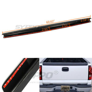 For 99 07 Chevy Silverado Gmc Sierra Tailgate Top Protector Molding Cover Cap