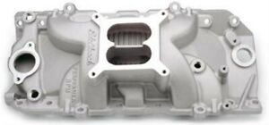 Edelbrock Performer Rpm Intake Manifolds Bbc Chevy 7161 Free Shipping