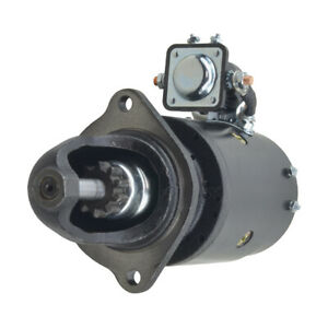 New Starter For Oliver 1750 W gas Eng 1107358 1108130 1108142 20 7000383