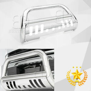 Fit 02 05 Dodge Ram 1500 3 Front Bumper Stainless Steel Bull Bar Grille Guards
