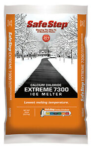 Compass Minerals 50820 Extreme 7300 Ice Melter Calcium Chloride 20 lb Bag