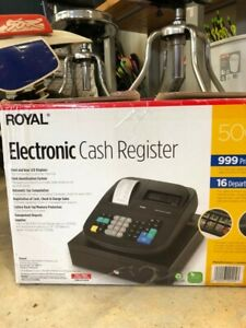 Royal 500 Dx Consumer Cash Register With Printer