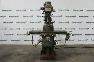 Seiki 10 X 50 Variable Speed Vertical Milling Machine W Servo 150 Power Feed