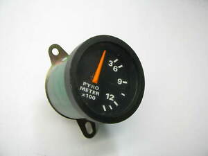 New Out Of Box Exhaust Temperature Pyro Gauge Oem 1980 90 Cl900 Clt900