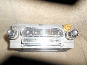 Vintage Fomoco Ford Original Radio Am Radio 270616