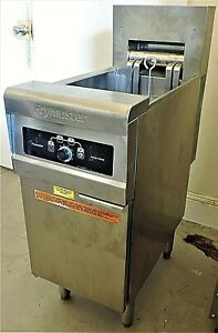 Frymaster Re114sc Electric Deep Fryer W Solid State Controls Lightly Used