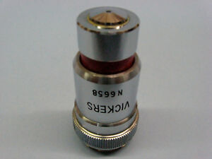 Vickers 100x Oil Microscope Objective Retractable