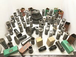 Lot Of 5c Collets And 5c Collet Closer Machinist Tools Zagar Hardinge