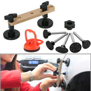 Car Body Paintless Dent Bridge Puller Glue Pulling Tabs Repair Tools A51