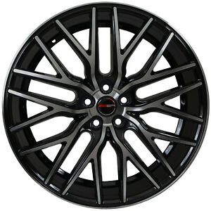 4 Gwg Flare 22x10 5 Inch Black Machined Rims Fits Range Rover Autobiography 2013