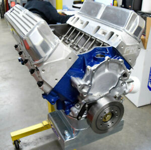 408 Small Block Ford Stroker Engine Aluminum Heads 351windsor Block 450hp