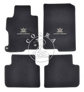 Floor Mats Accord Logo Fits Honda Accord Sedan 2013 2014 2015 2016 2017