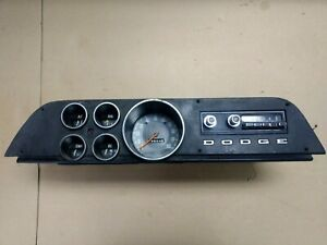 72 73 74 Dodge Truck Power Wagon Ramcharger Cluster 100 Mph Speedometer