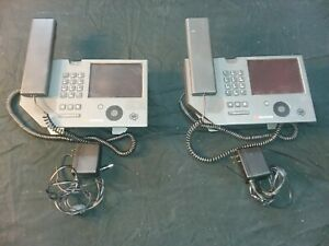 Polycom Cx700 Ip Voip 5 7 Lcd Touch Screen Skype Lync Lot Of 2 With Power Cords
