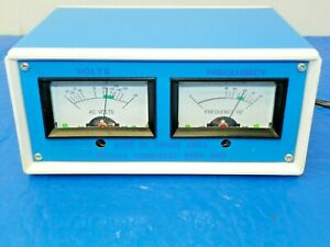 Power Line Monitor Volts And Frequency Generator And Other Equipment Draw