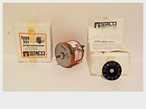 Staco Type 251 Variable Autotransformer Panel Mount Nos