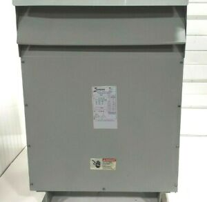 Tested Hammond Mk075kds 75 Kva Step Down Transformer 480v To 240v 3 phase 60hz